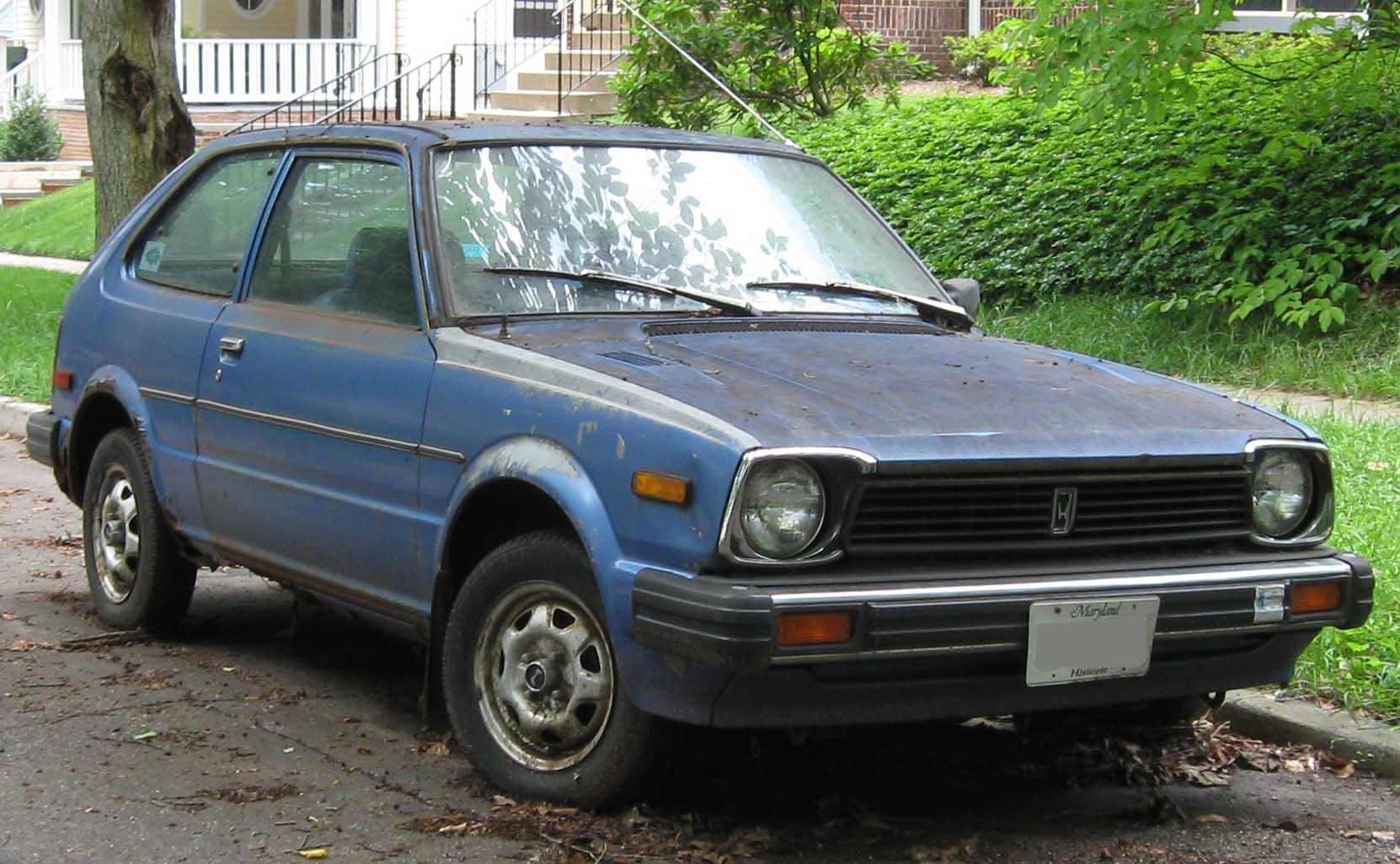File 80 81 Honda Civic Dx Hatch Front Jpg Wikimedia Commons