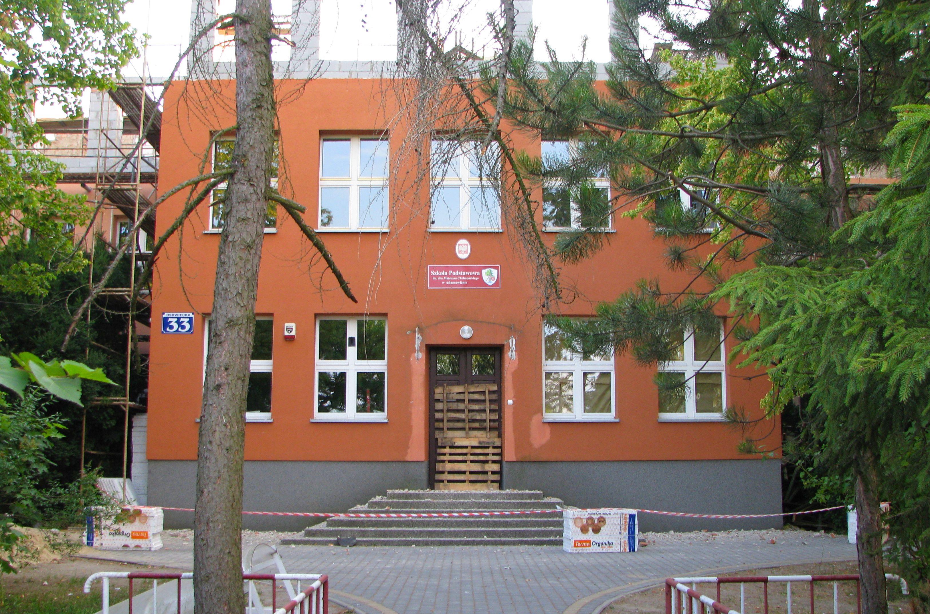 File Adamowizna Szkola Podstawowa F 1 Jpg Wikimedia Commons