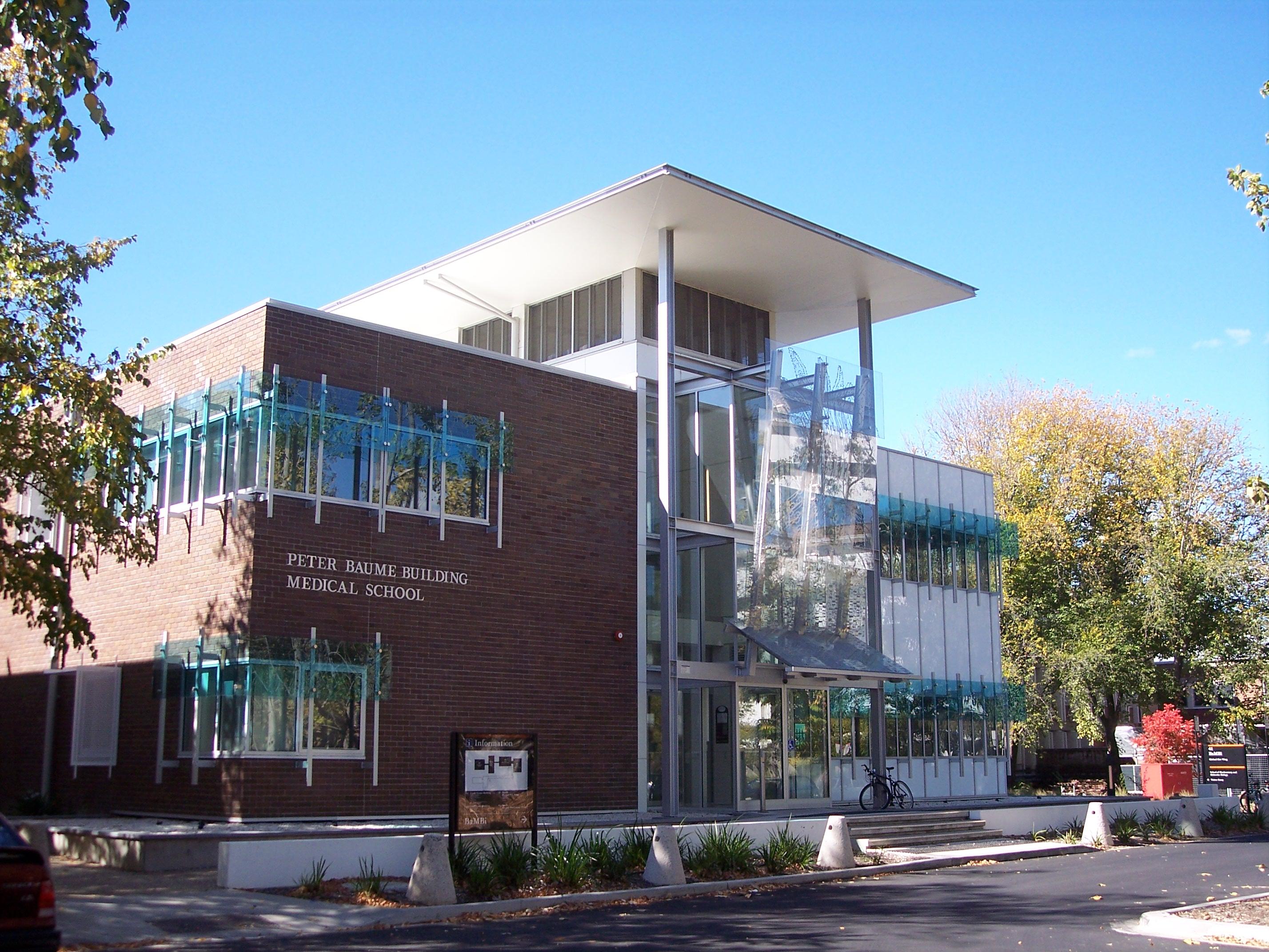 Description anu medical school building