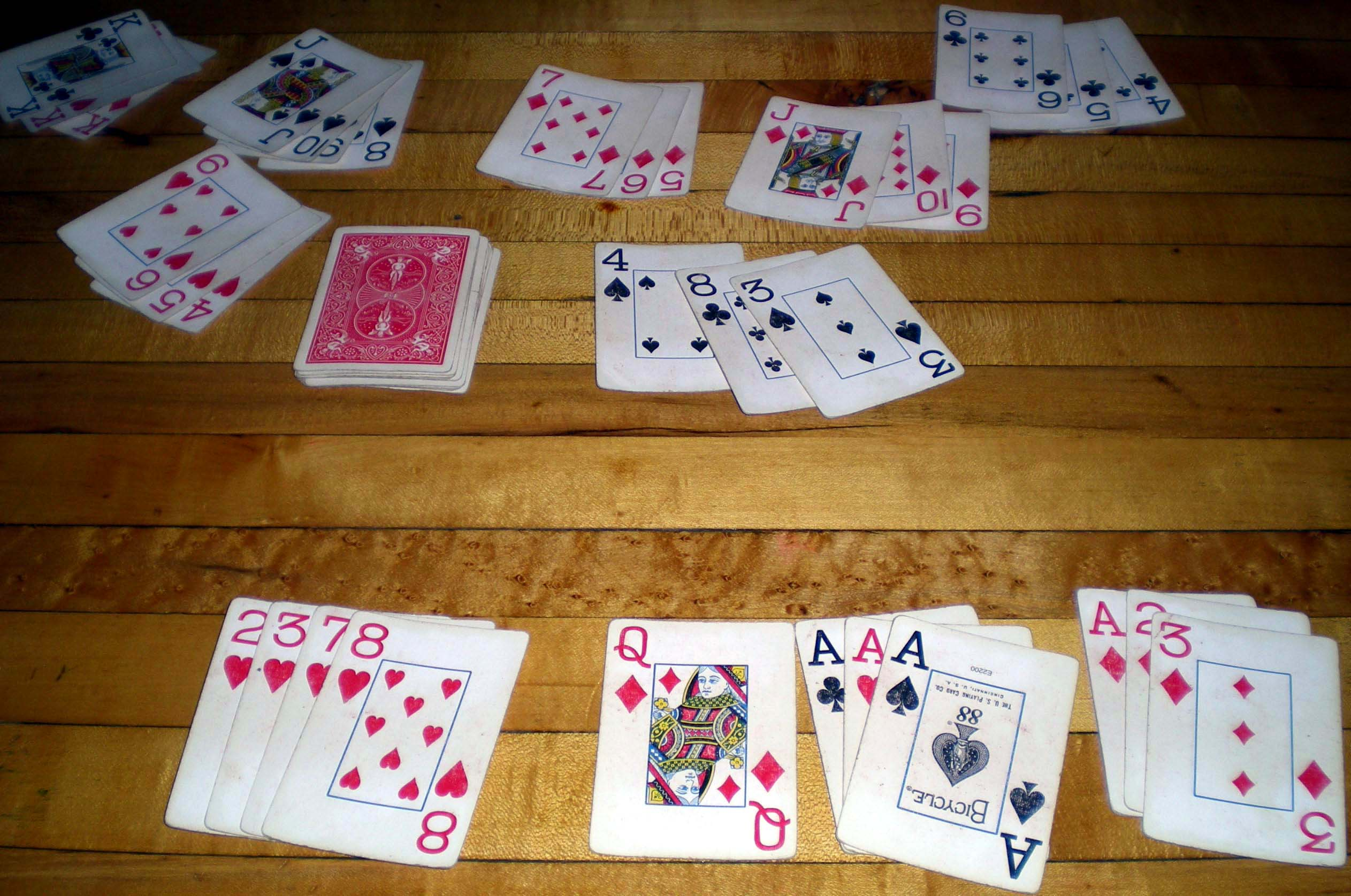 Picture of a game: Rummy