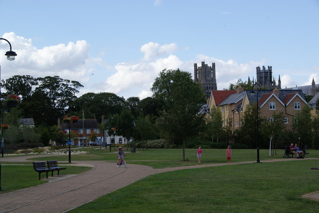 A park in Ely - geograph.org.uk - 1598794