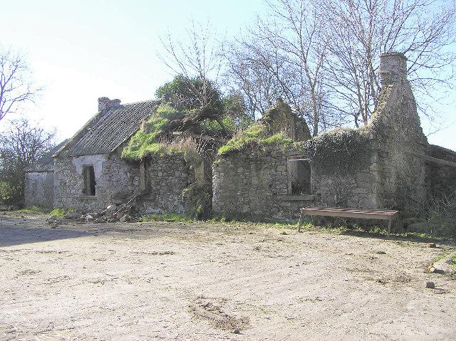 File Abandoned Farm At Kells Newtownstewart Geograph