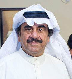 Abdulhussain Abdulredha, the most prominent Kuwaiti actor. Abdulhussain Abdulredha 2009 (cropped) version.jpg