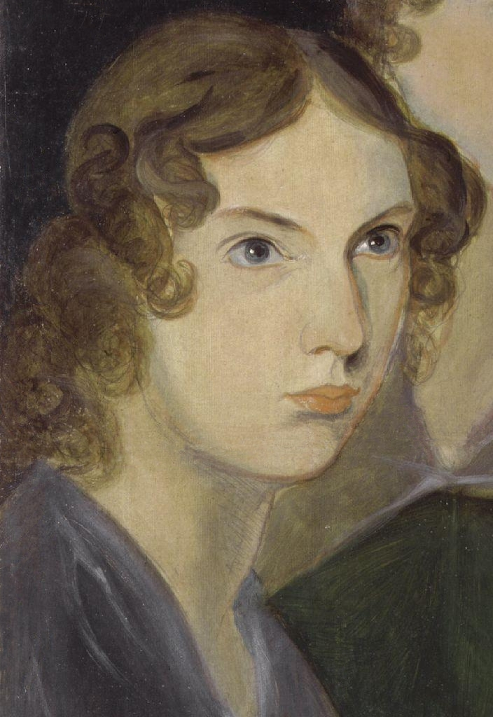 "alt=""Anne Bronte from the 'Pillar Portrait' by Branwell Bronte"""