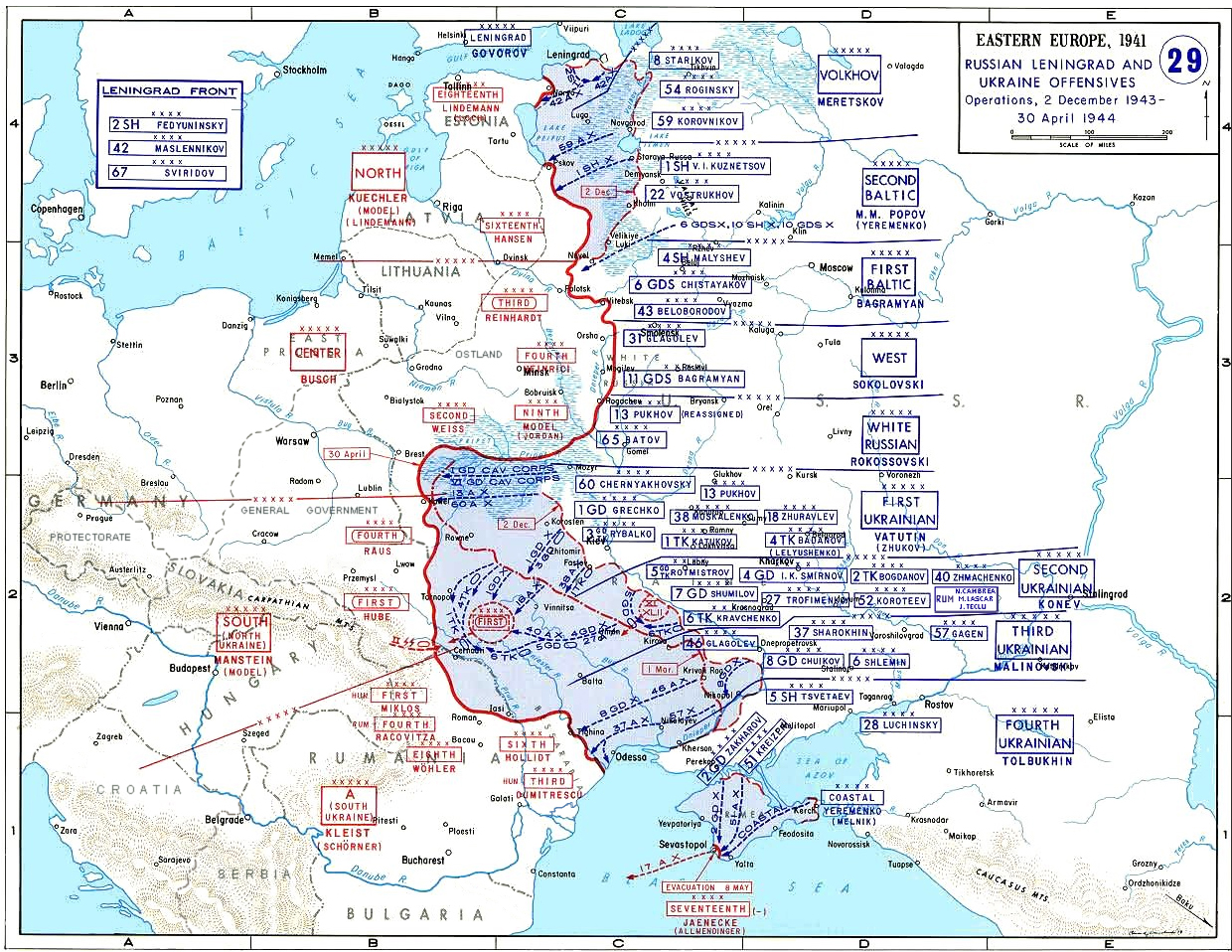 Korsun Pocket The Encirclement and Breakout of a German Army in the East 1944