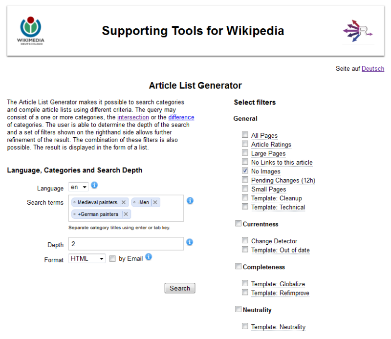 RENDER/Supporting Tools for Wikipedia/Article List Generator - Meta