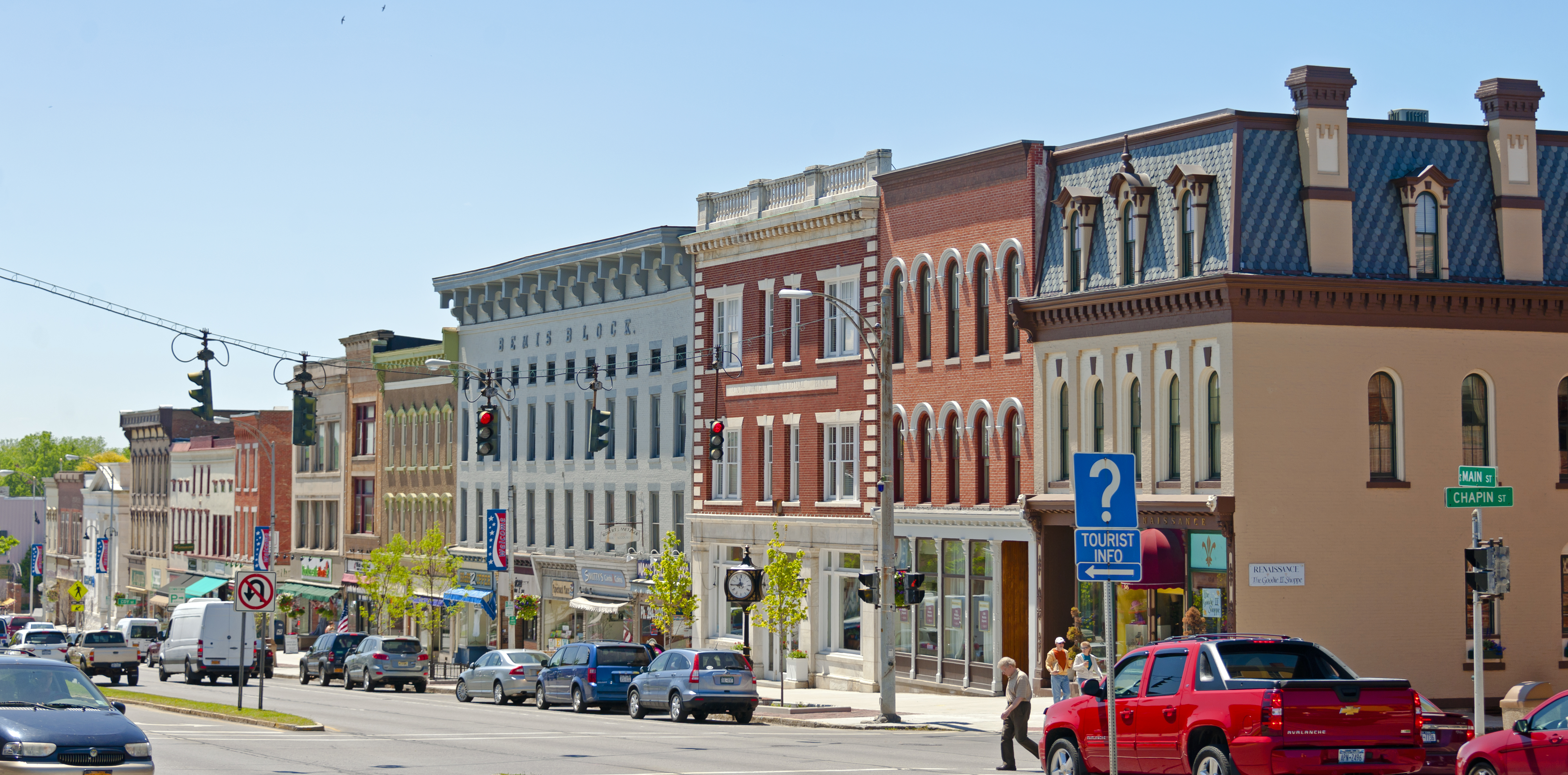 file bemis block and other buildings on south main street