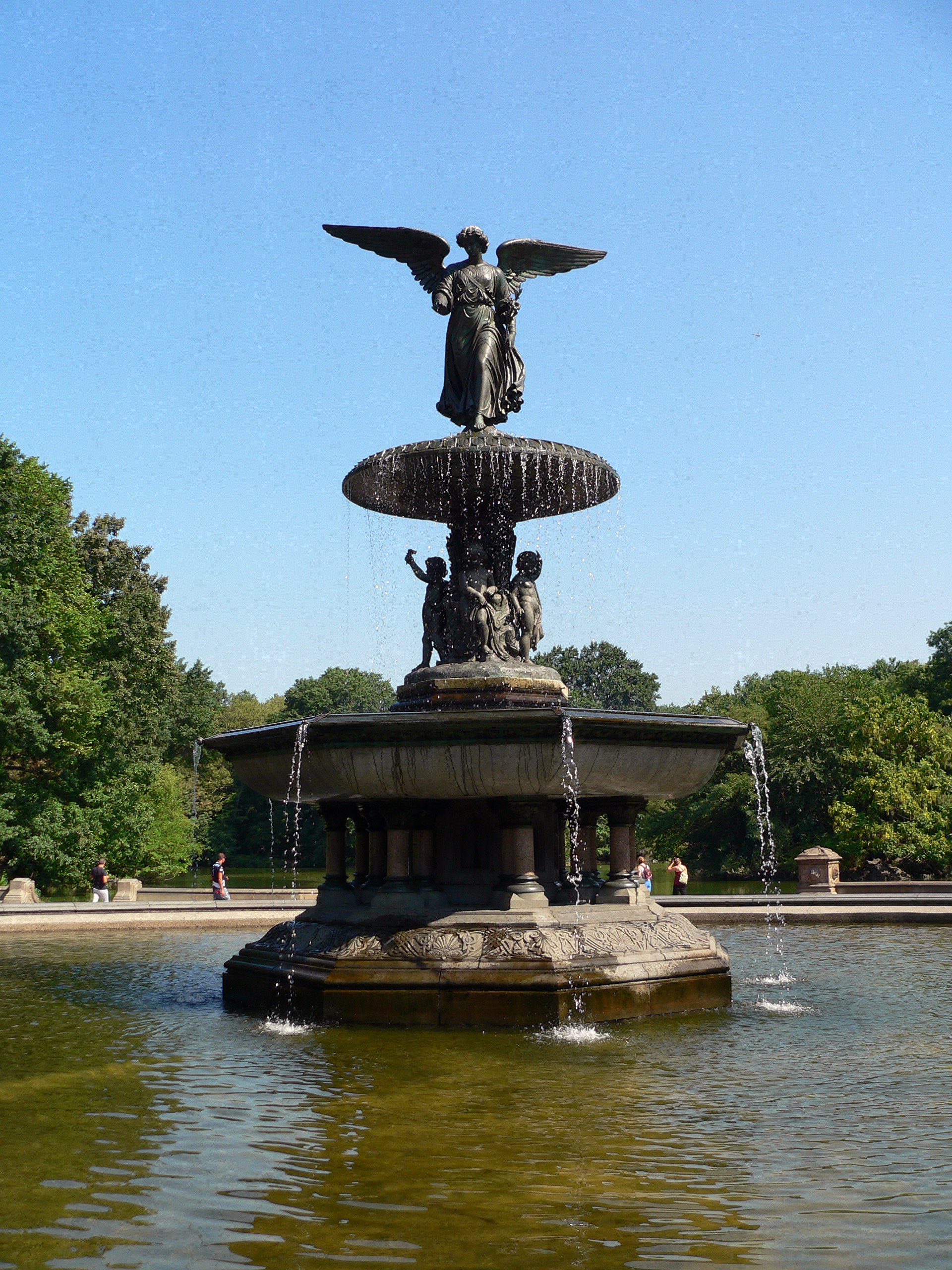 File Bethesda Fountain Stig Nygaard Jpg Wikimedia Commons