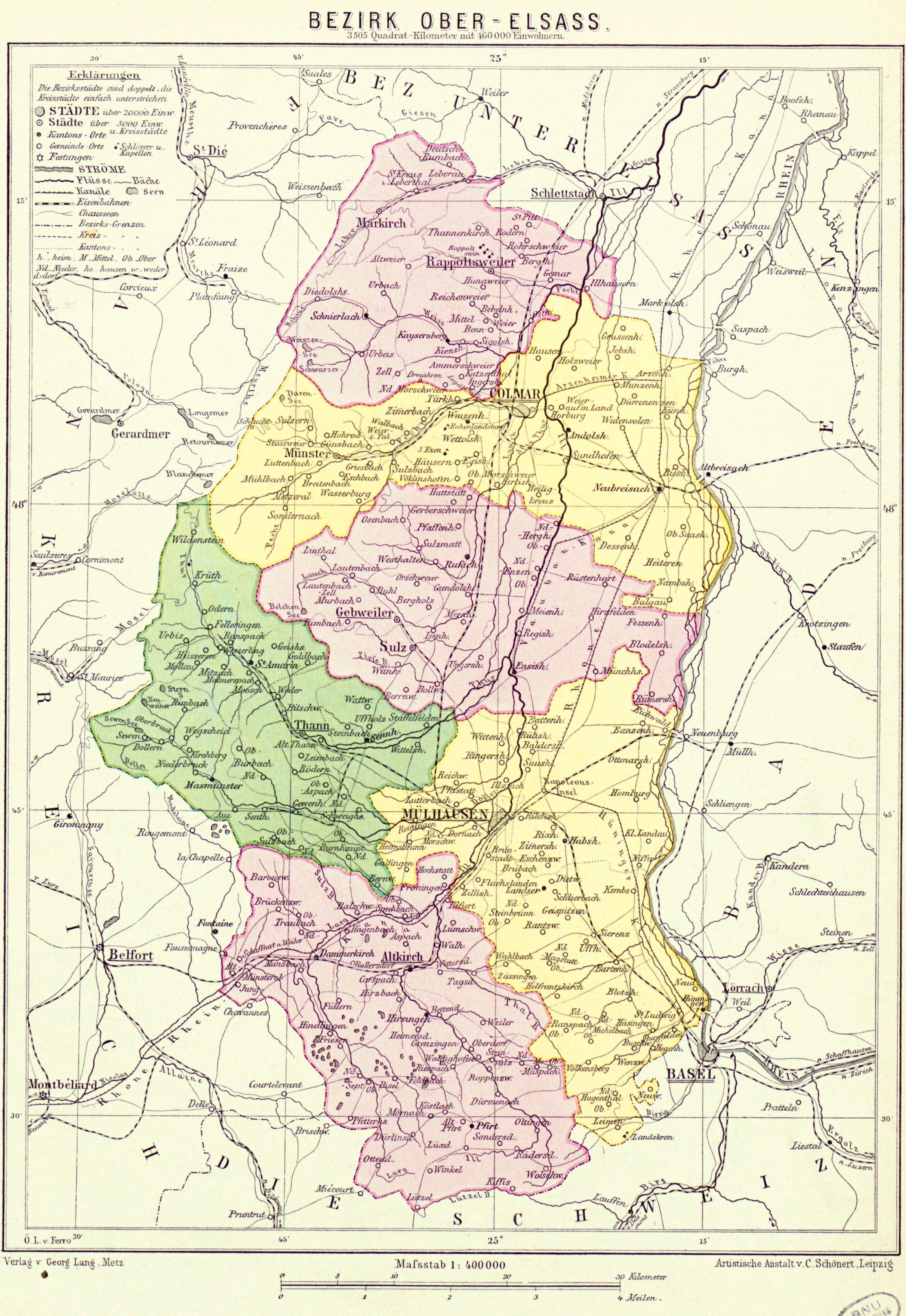 Elsass Karte Zum Ausdrucken.Departement Haut Rhin Wikipedia