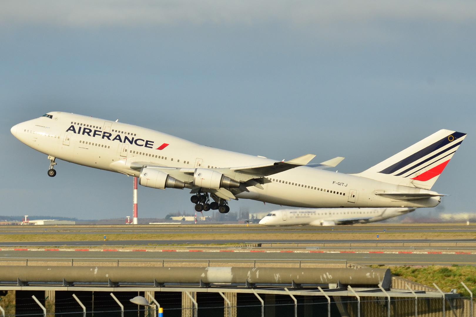 File Boeing 747 400 Air France Afr F Gitj Msn 32871