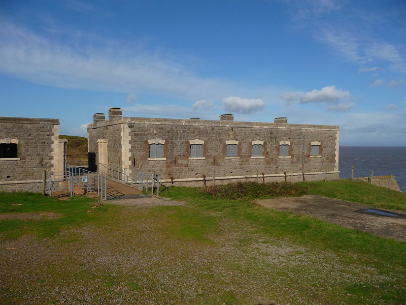 Brean Down - Brean Down Fort (geograph 2782110)