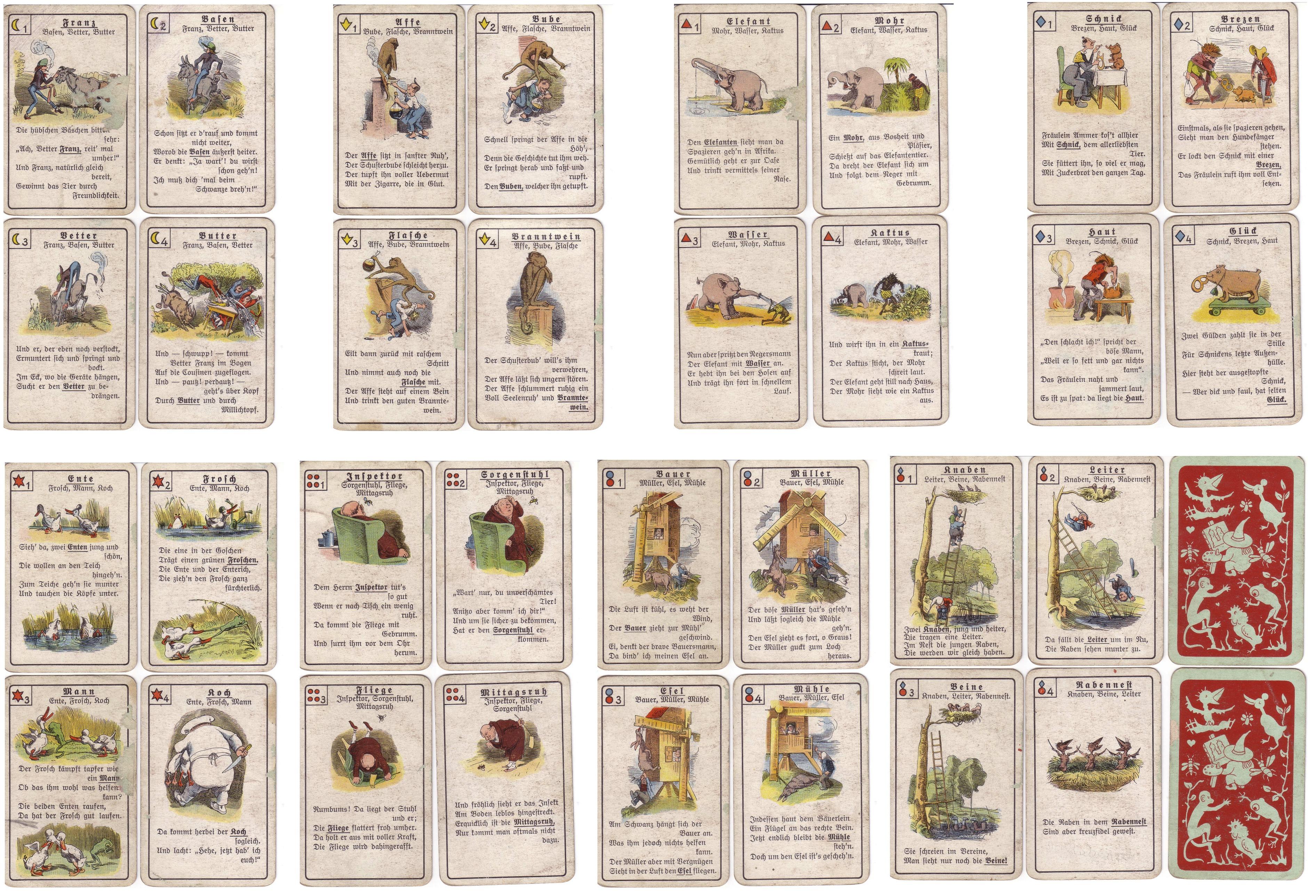 Kartenspiel Zum Ausdrucken Kostenlos