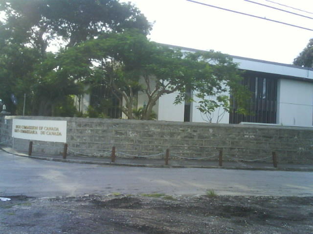 File canadian high commission at bridgetown for Consul high availability