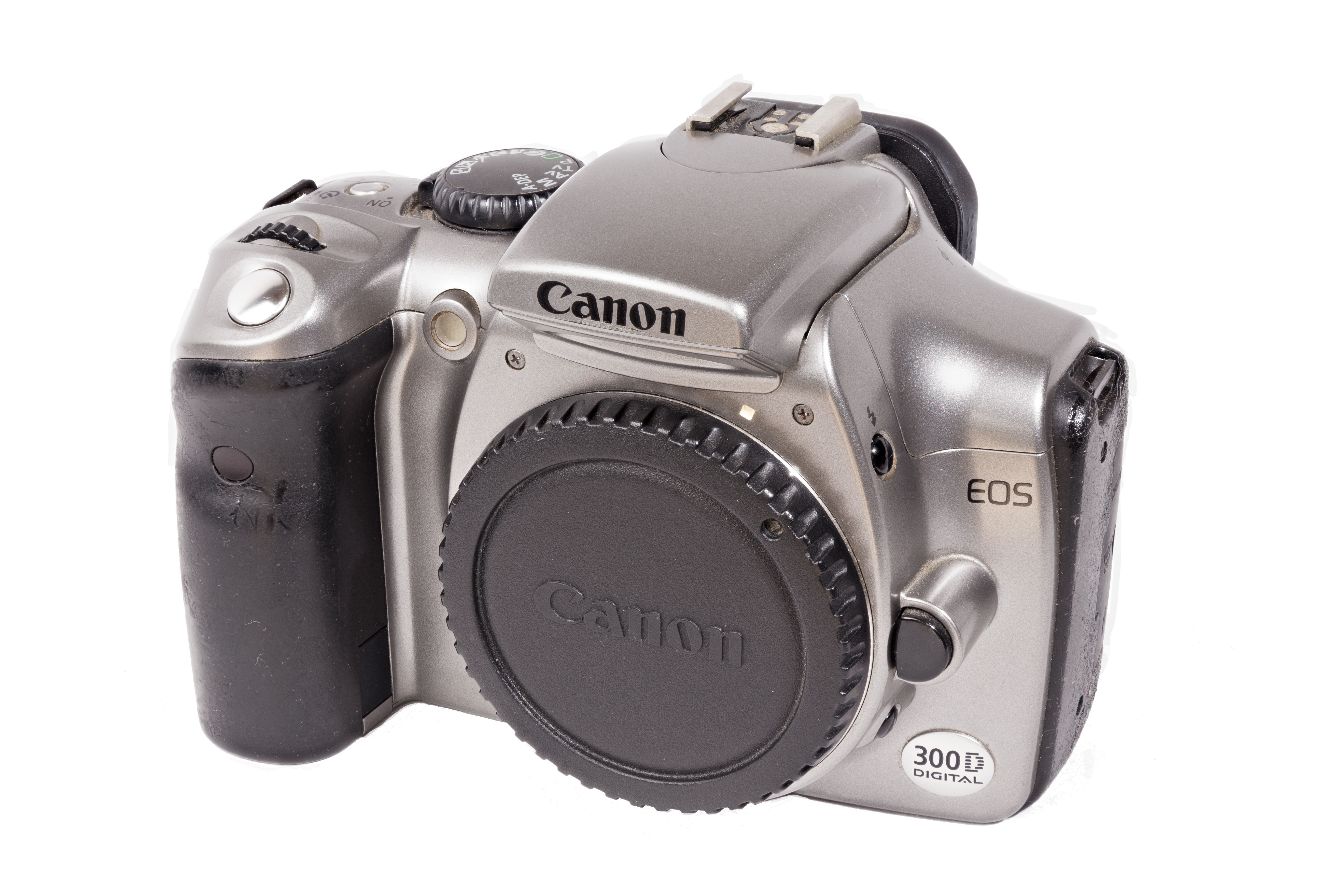 File:Canon EOS 300D, Front, 1803181552, ako.jpg