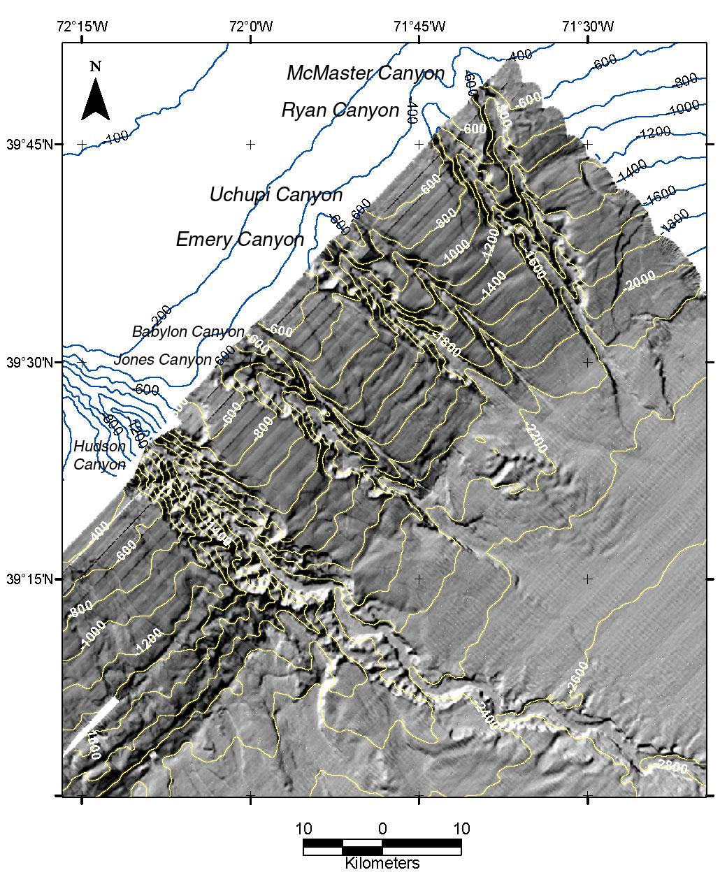 Submarine canyon - Wikipedia