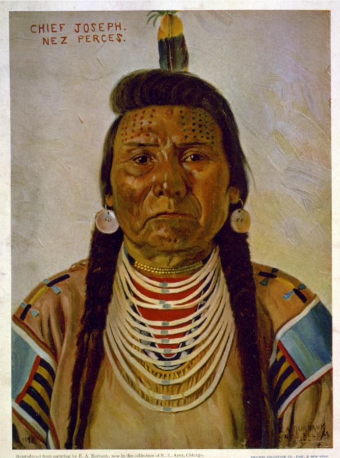 Chief Joseph Portrait, 1896