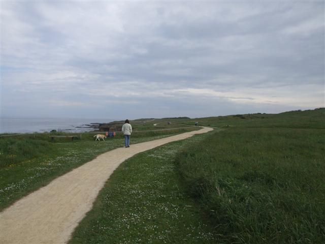 Coastal footpath South of Souter Point - geograph.org.uk - 182001