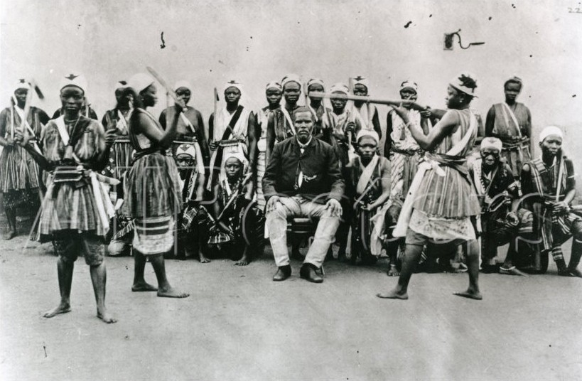 Dahomey Amazons, an all-women fighting unit.