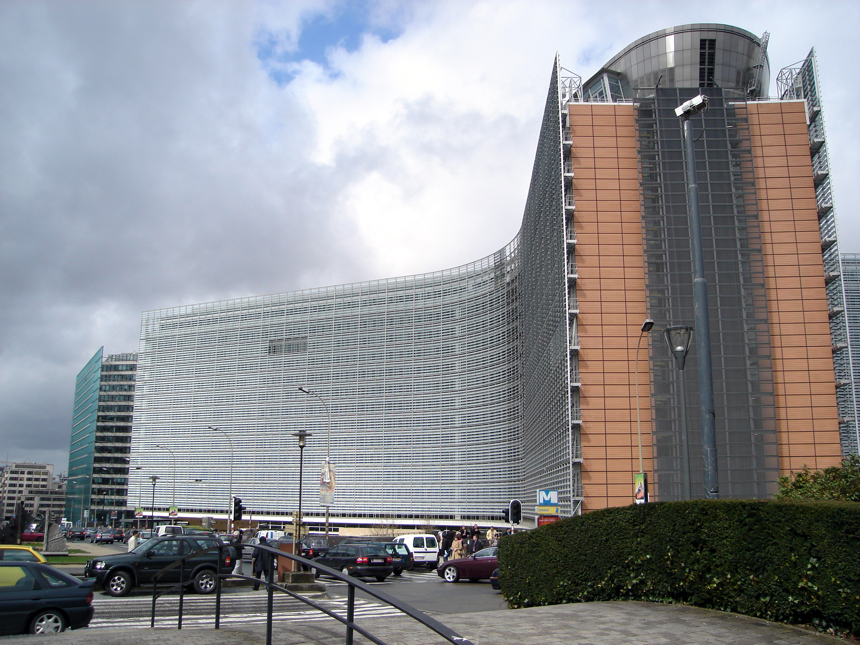The Berlaymont Building, Brussels