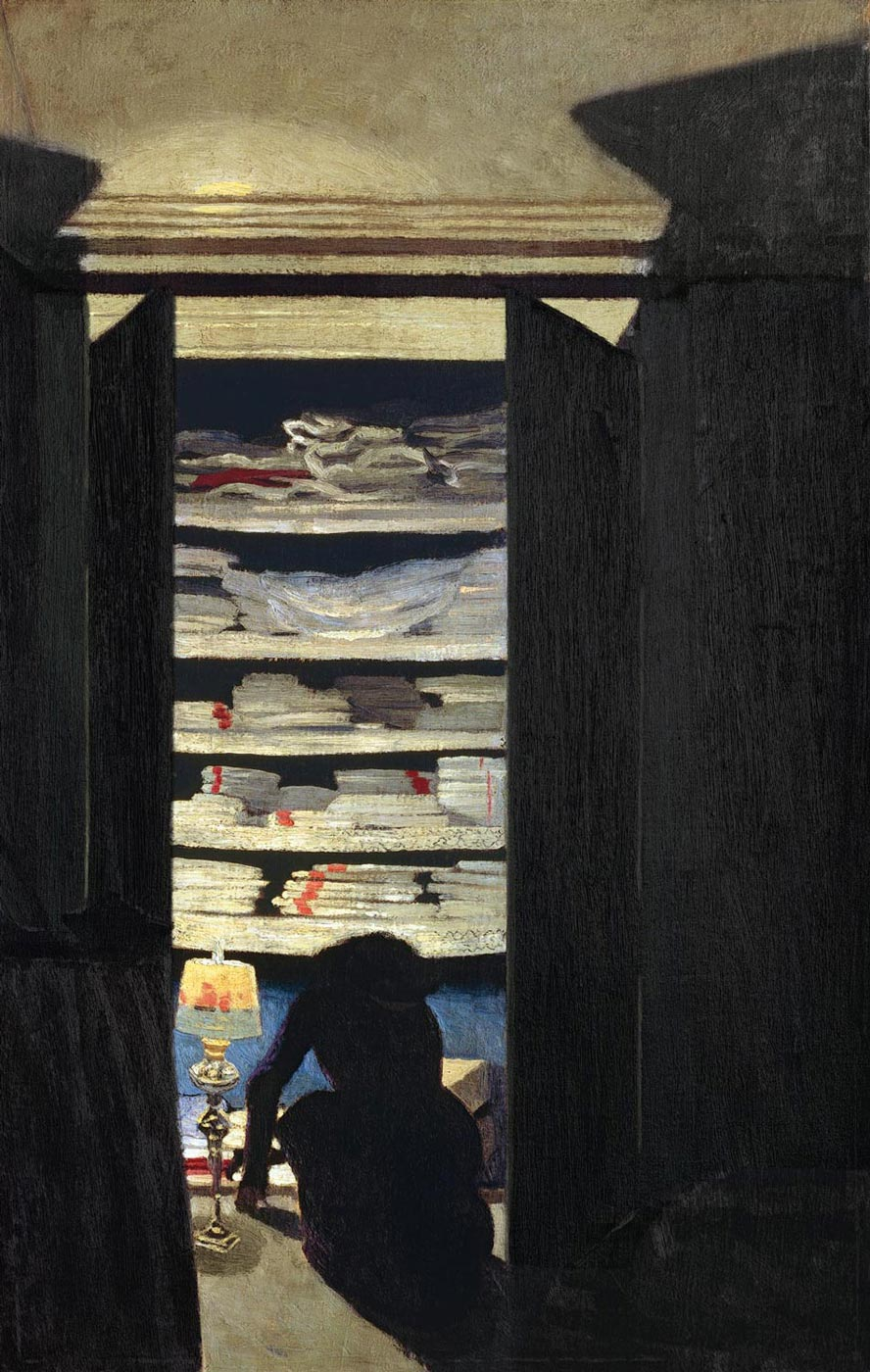 Fichier:Félix Vallotton, 1901 - Femme fouillant dans un placard.jpg ...