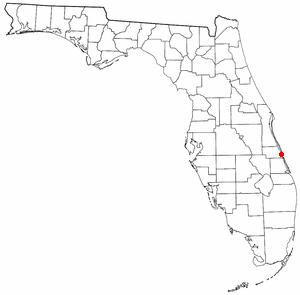 Location of Vero Beach, Florida