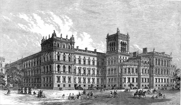 File foreign and india offices london 1866 wikimedia commons - British foreign commonwealth office ...
