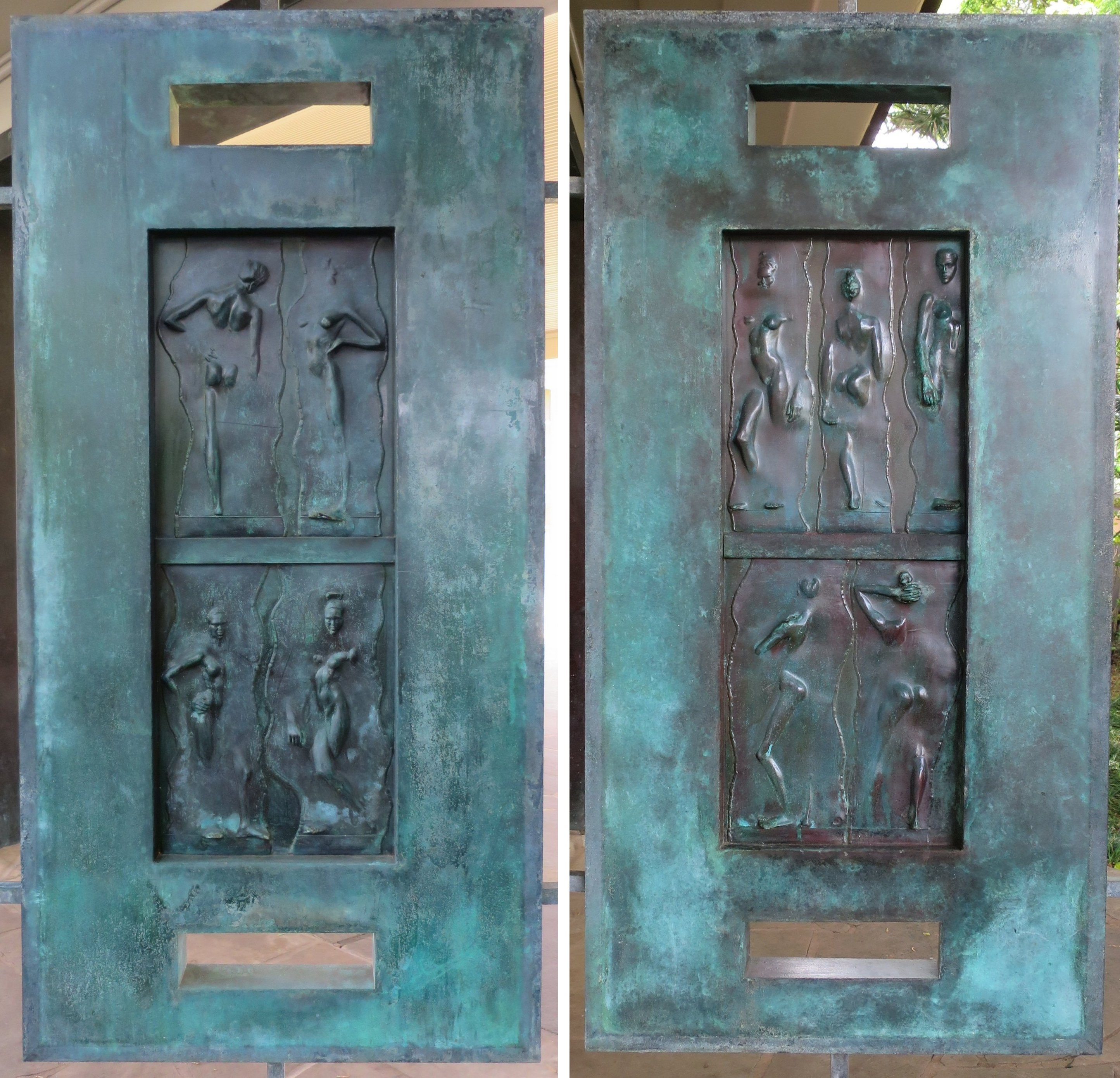 Nice File:Front Doors Of Spalding House By Robert Graham, From Outside