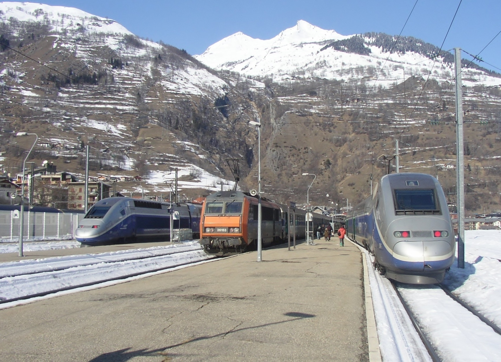 gare de bourg st maurice