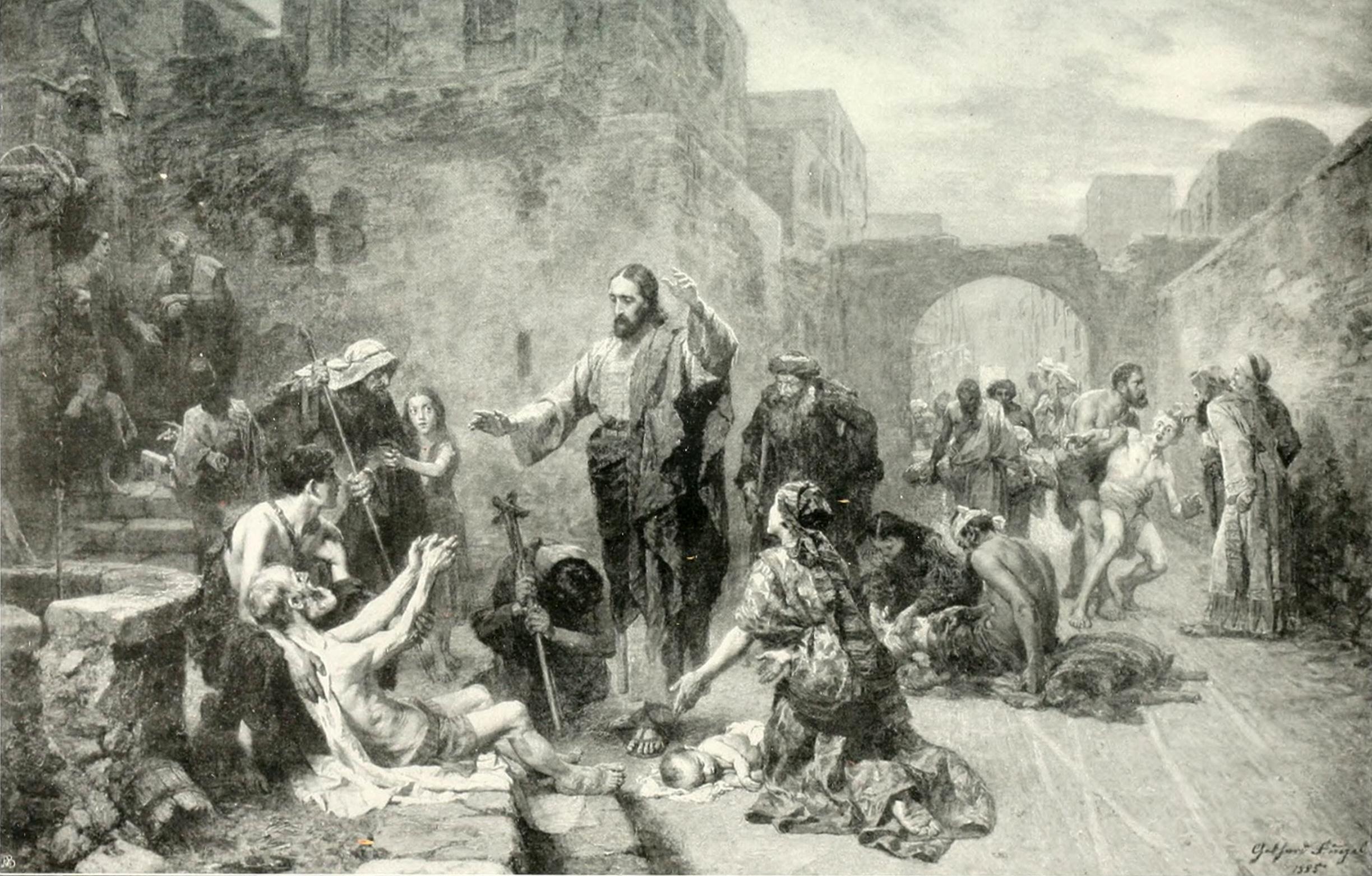 FileGebhard Fugel Jesus heilt Kranke 1885jpg  Wikimedia Commons