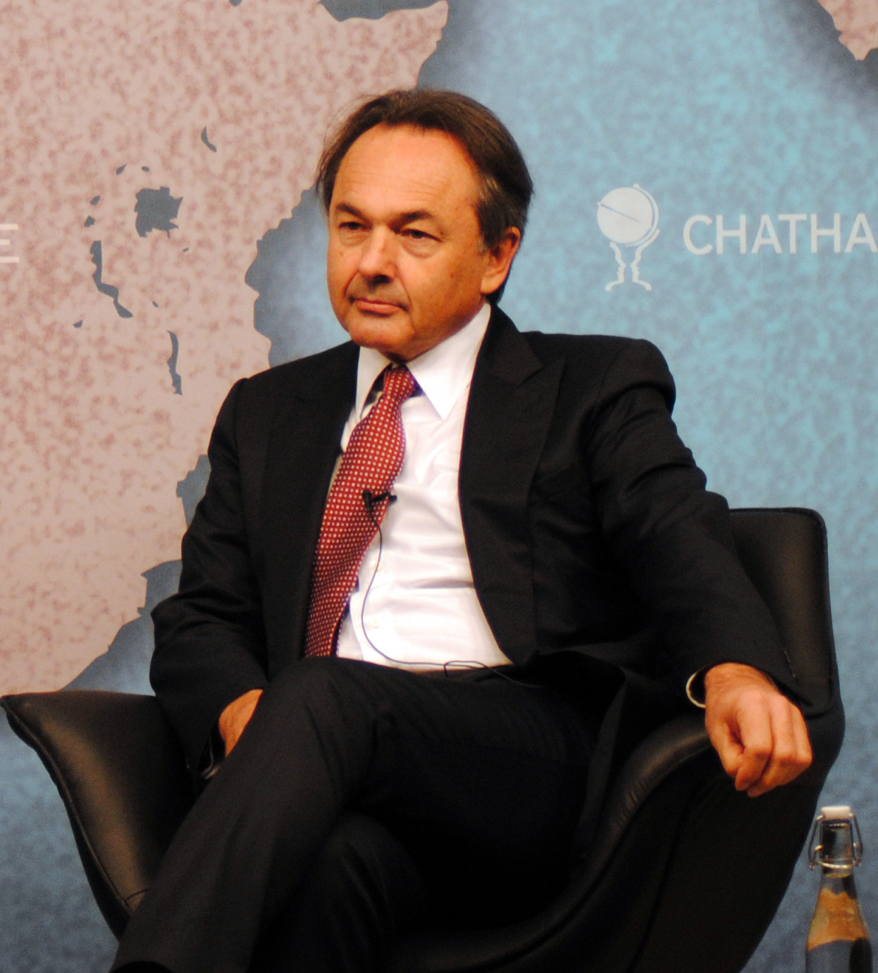 Gilles Kepel at [[Chatham House]] in 2012