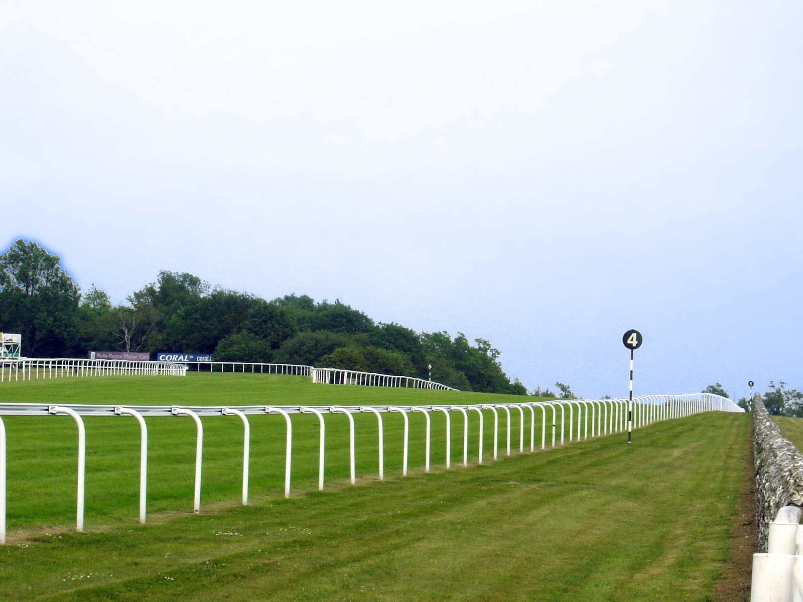 Goodwood Racecourse, West Sussex, England