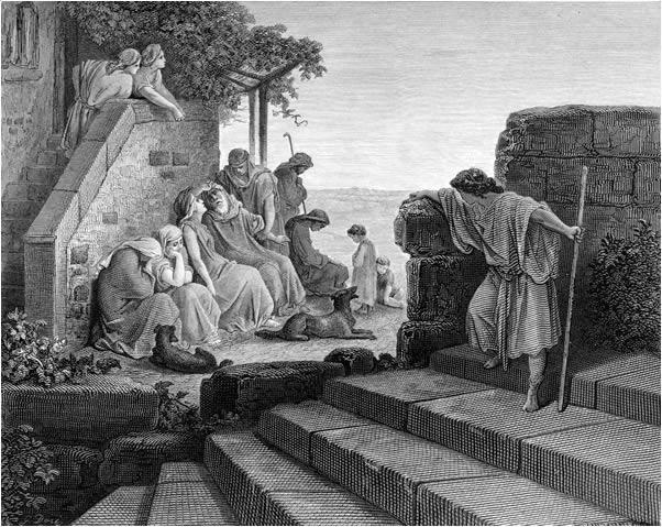 탕자의 뉘우침 (귀스타브 도레, Gustave Dore, 1866년)