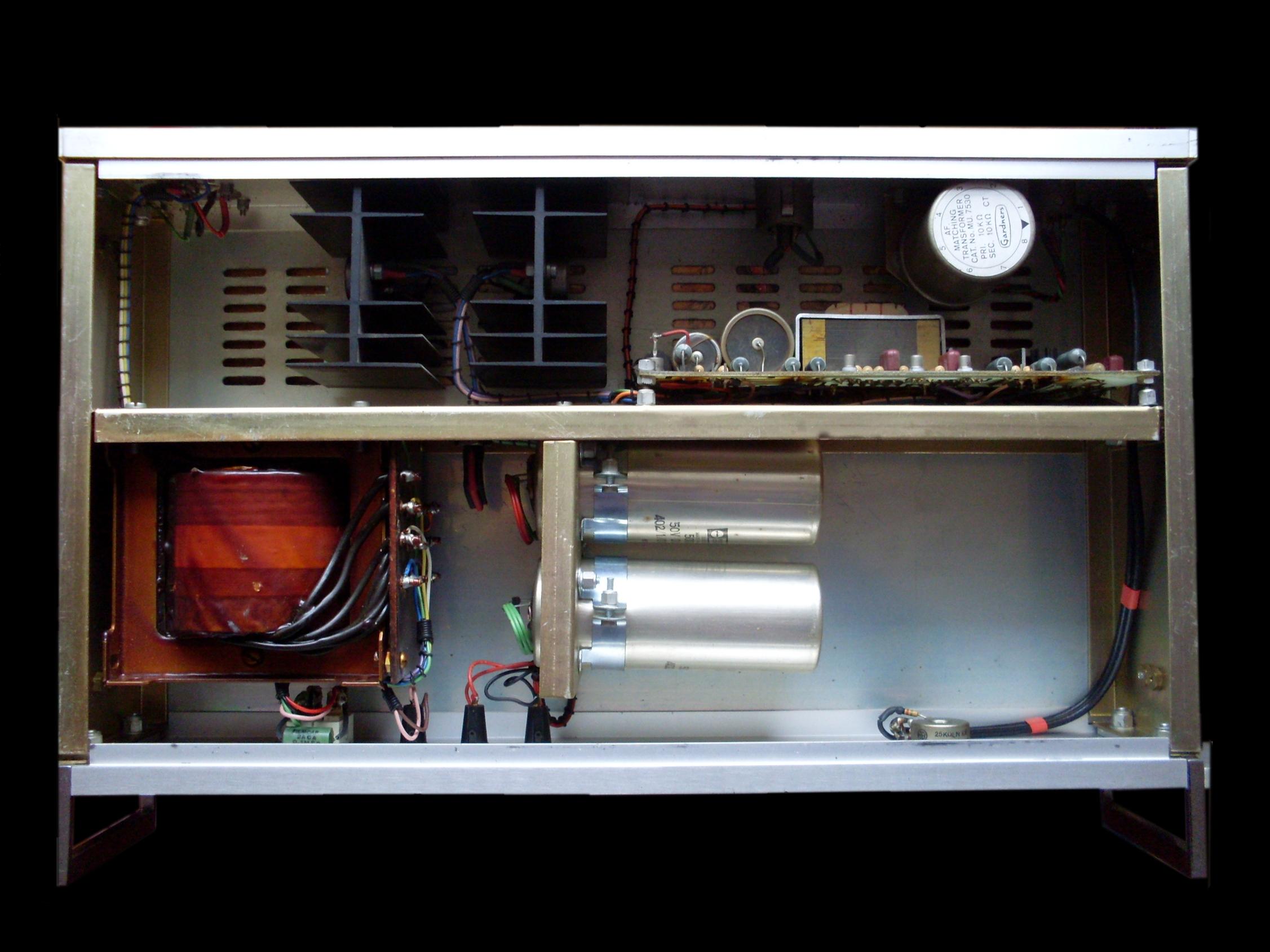 Hh Electronics Wikipedia Road Gear 1 Amplifier Head Cabinet Hitam