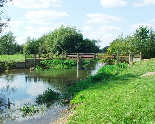 Hampton Poyle footbridge