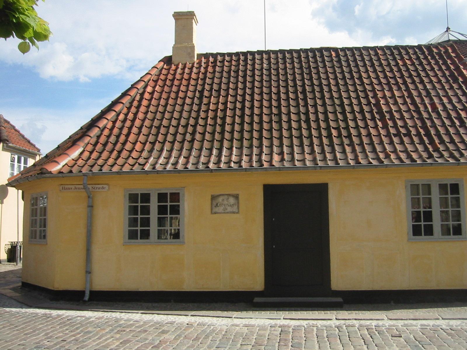 Casa de Hans Christian Andersen en Odense.