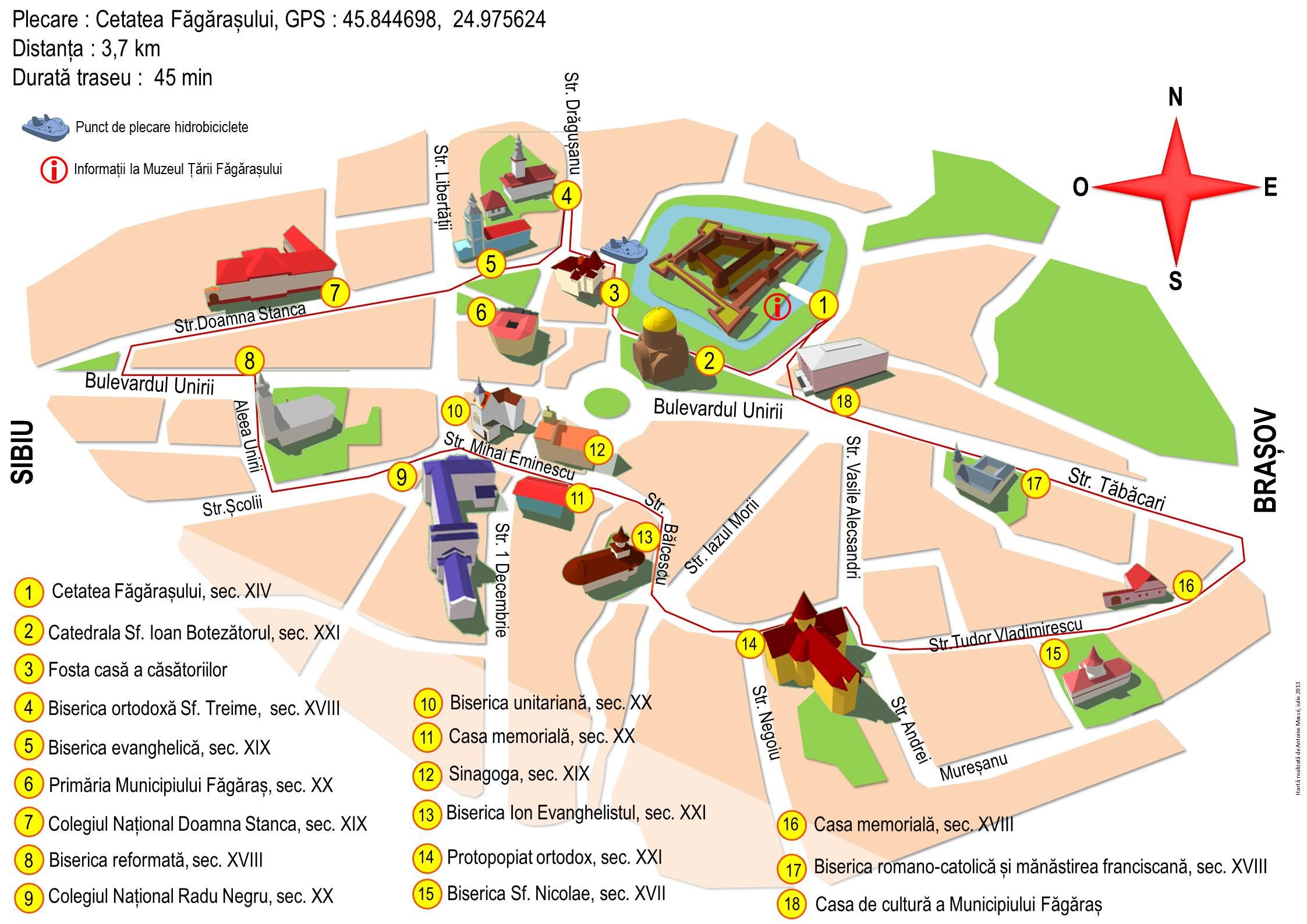 File Harta Turistica Fagaras Jpg Wikimedia Commons