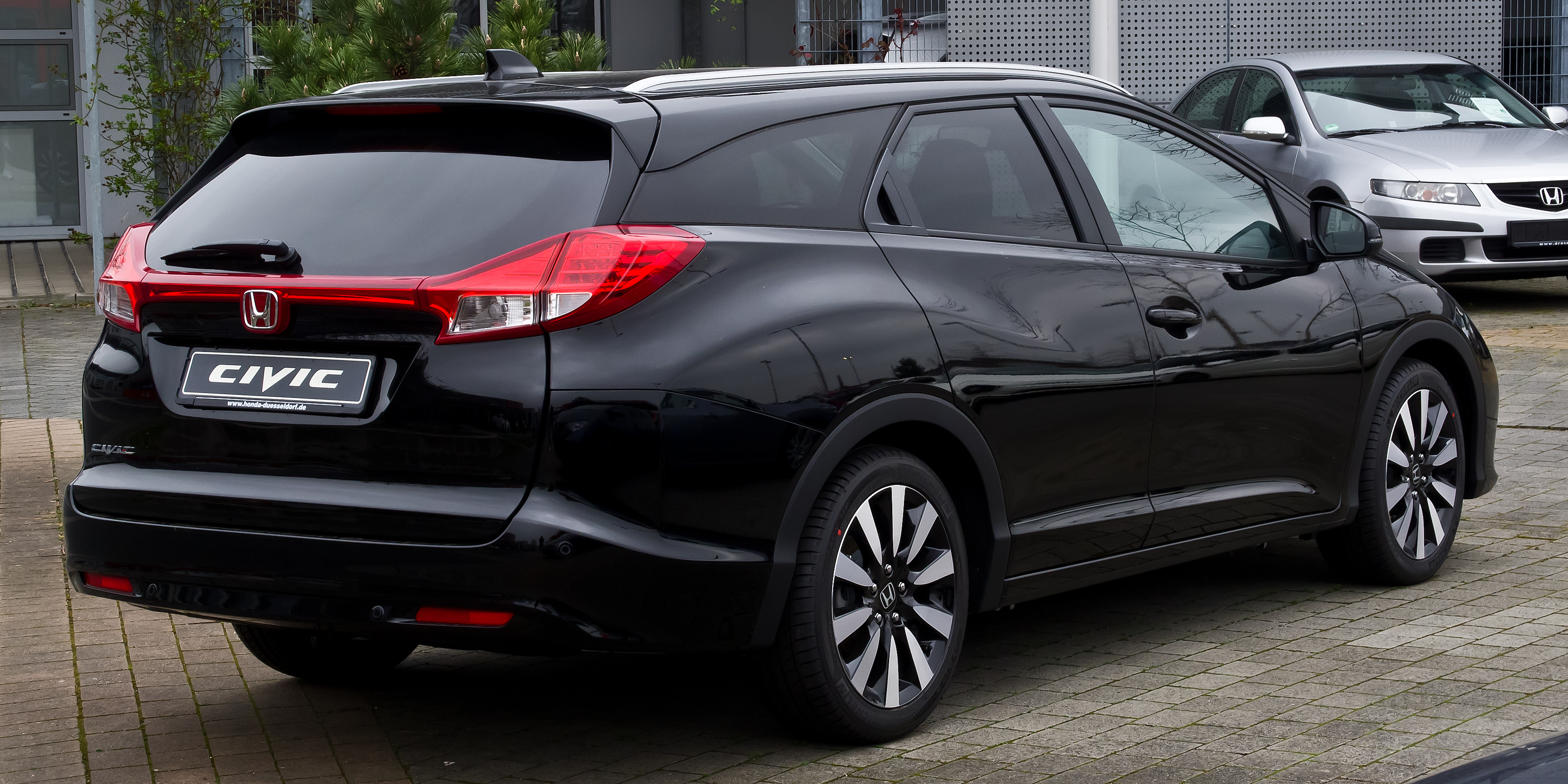 Honda Civic Tourer >> File Honda Civic Tourer Ix Heckansicht 16 Marz 2014