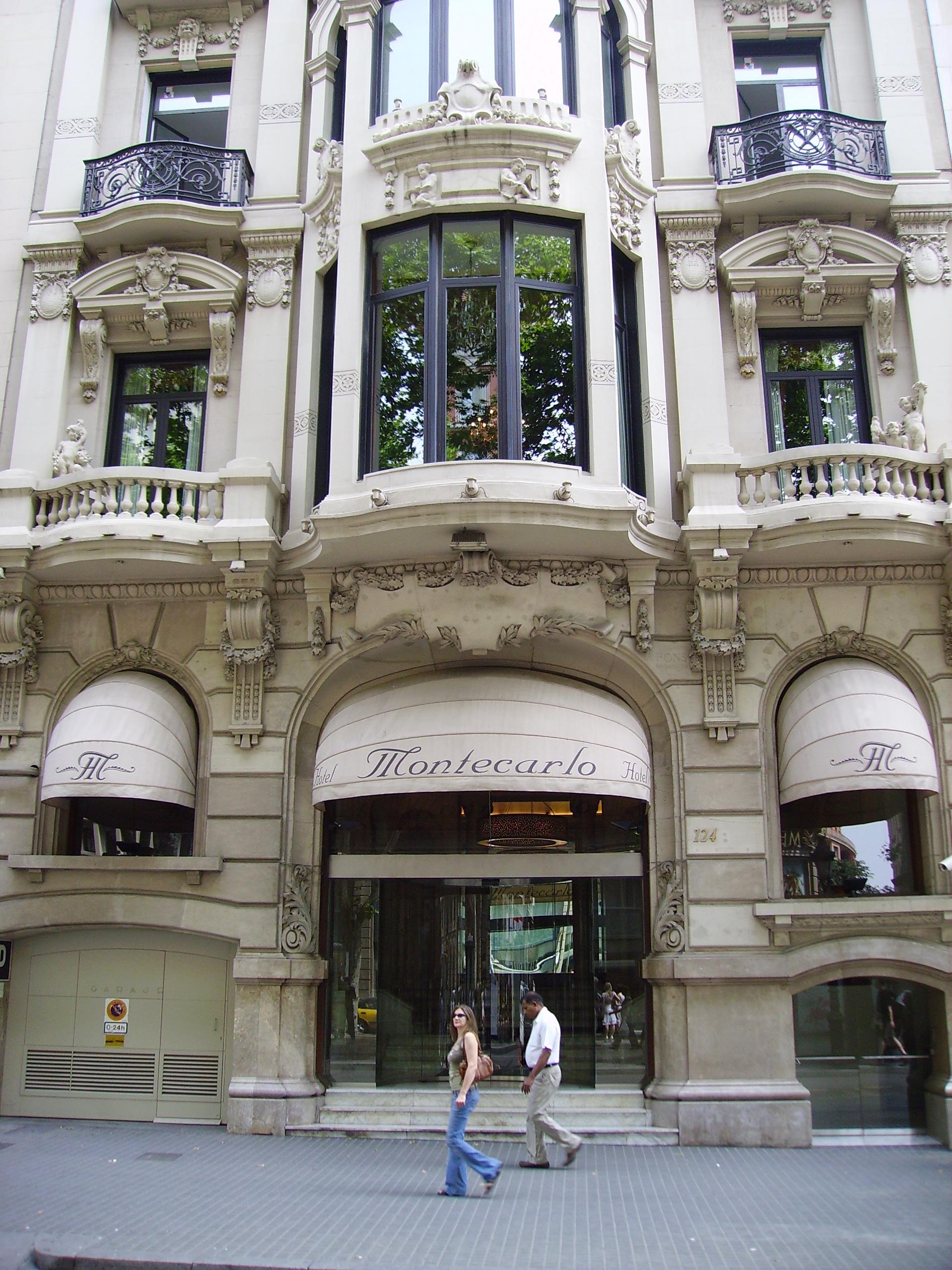 hotel montecarlo barcelona:
