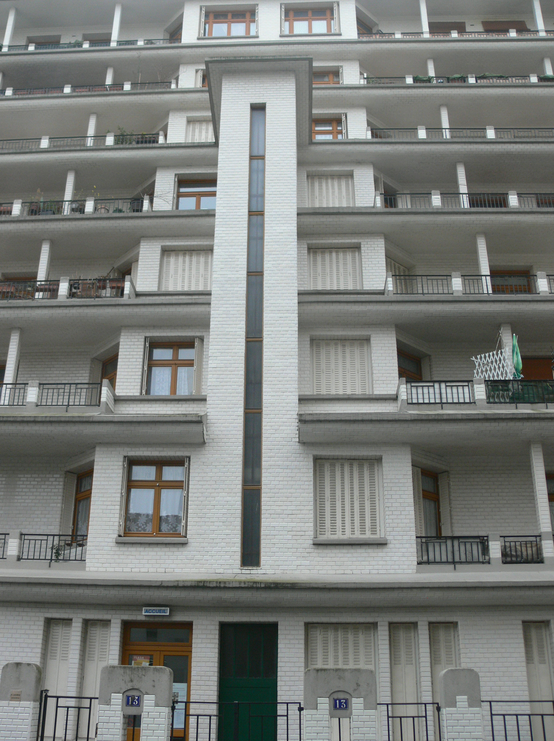 File Immeuble Sauvage Piscine Des Amiraux Staircase Rue Des