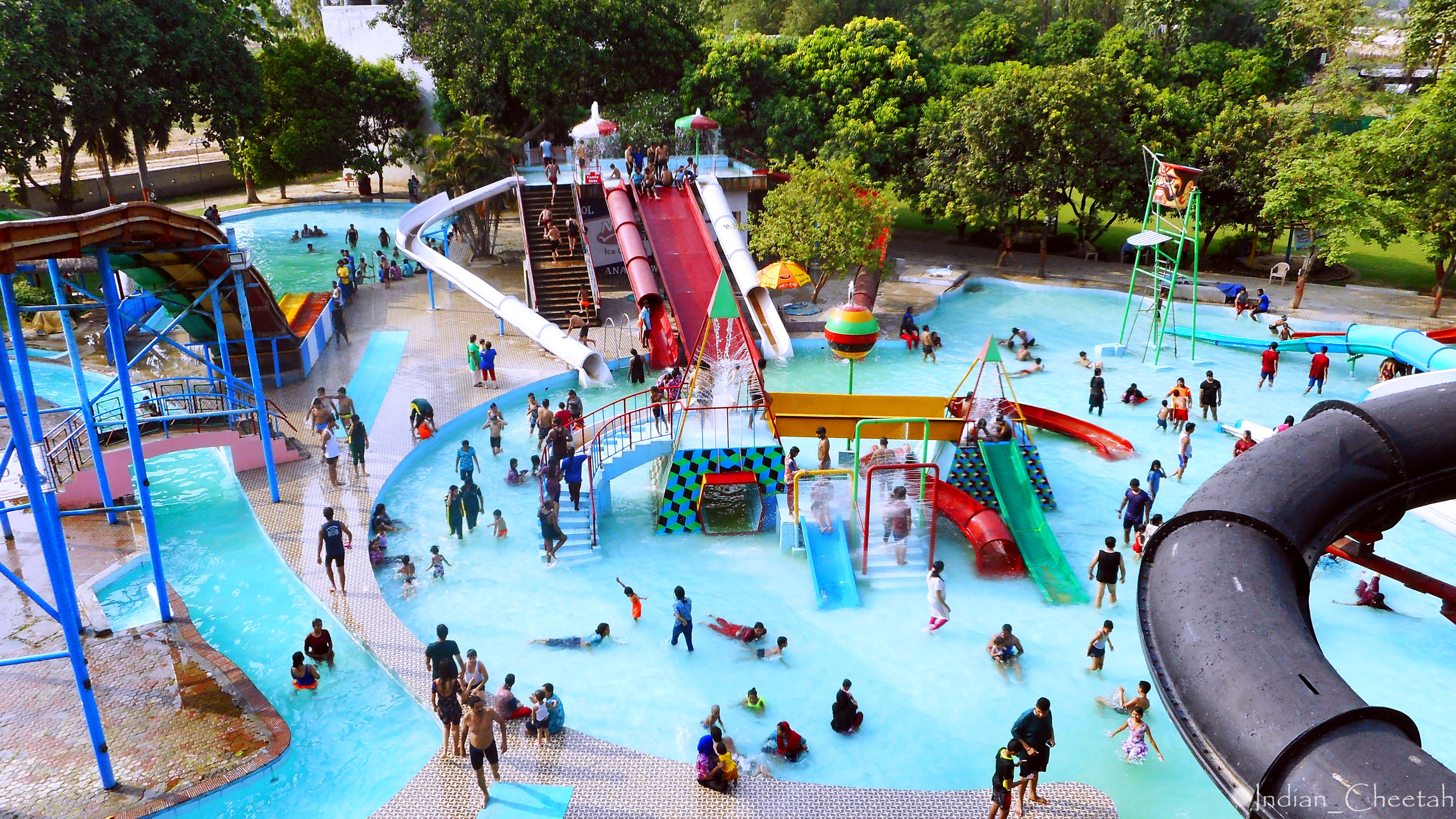 Located around 22 km. from city center (Charbagh), Anandi Water amusement park is a delight on a hot summer afternoon.