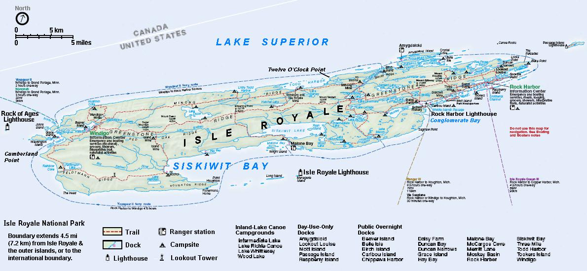 Isle Royale National Park MI Travel Around USA - National parks in michigan