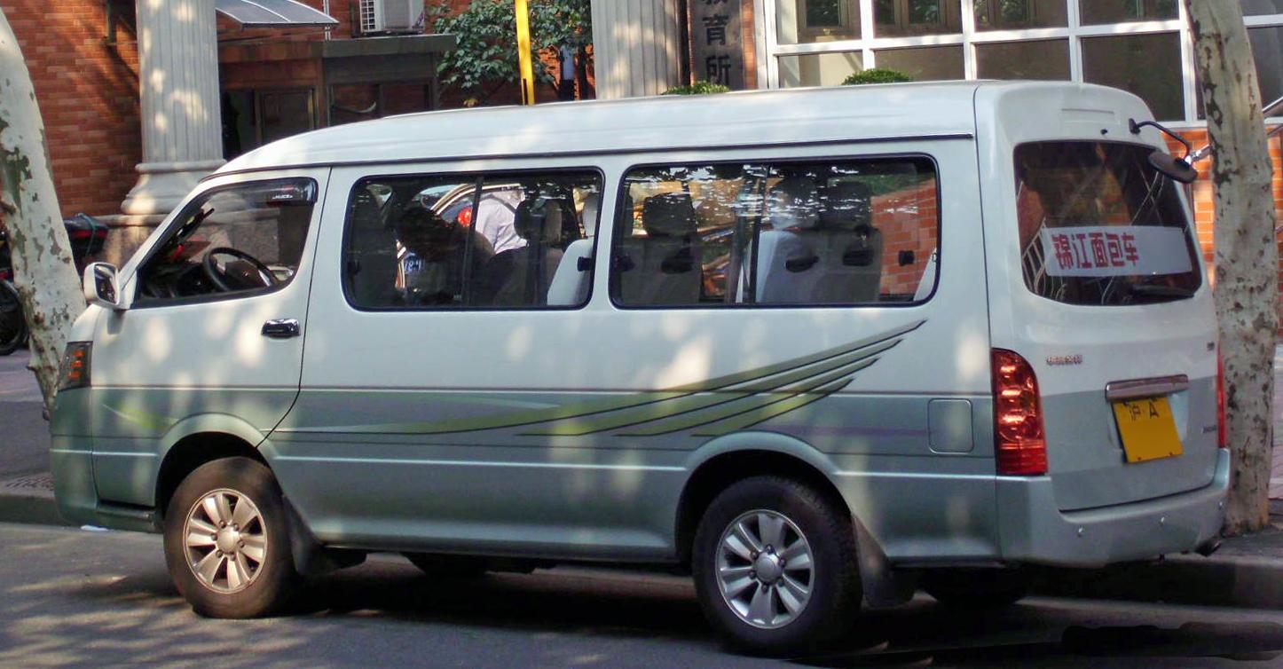 Gl Grandia Seating Capacity >> File:Jinbei Haise minibus.jpg - Wikimedia Commons