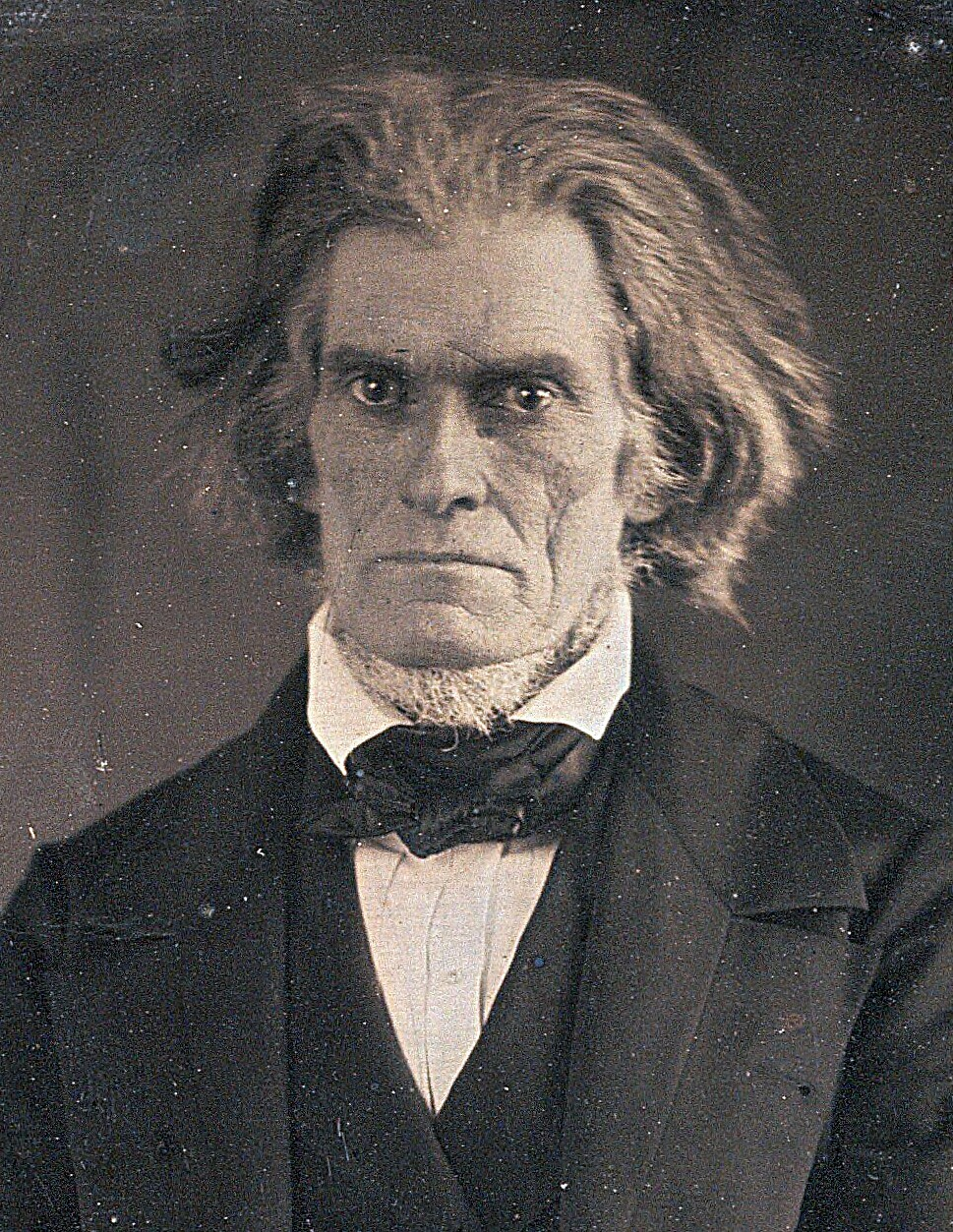 john c calhoun and the nullification crisis in the united states Overview: nullification is a constitutional theory that gives an individual state the right to declare null and avoid any law passed by the united states congress the two major characters in the nullification crisis are john c calhoun and andrew jackson.