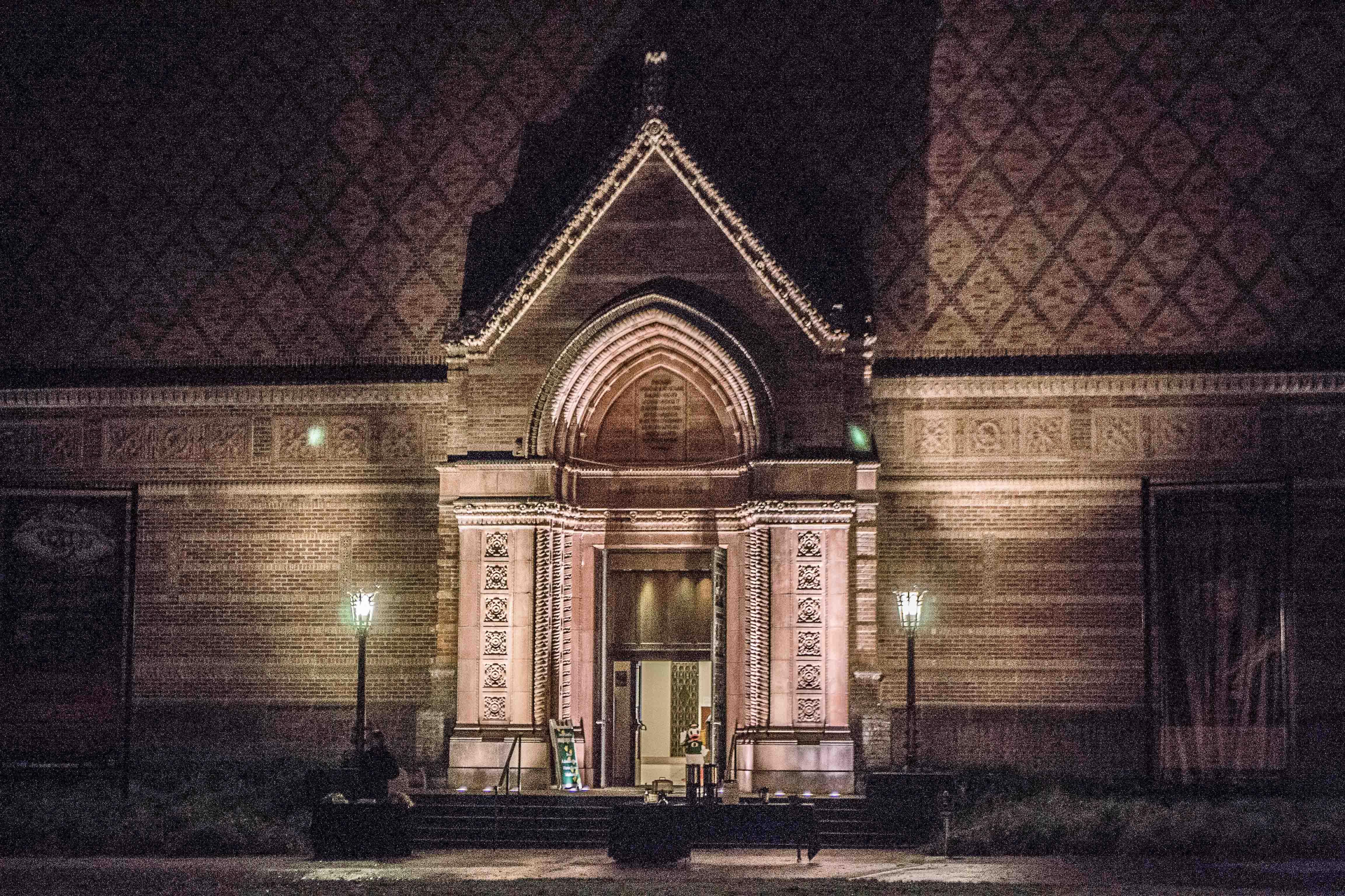 FileJordan Schnitzer Museum Of Art At Nightjpg Wikimedia Commons - Jordan schnitzer museum