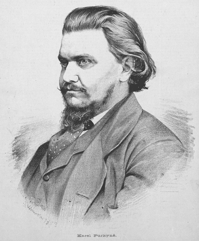 Karel Purkyně; portrait by [[Jan Vilímek