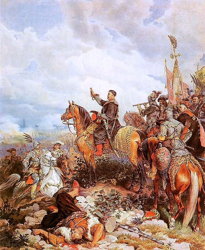 File:King John III Sobieski blessing Polish attack on Turks in Vienna