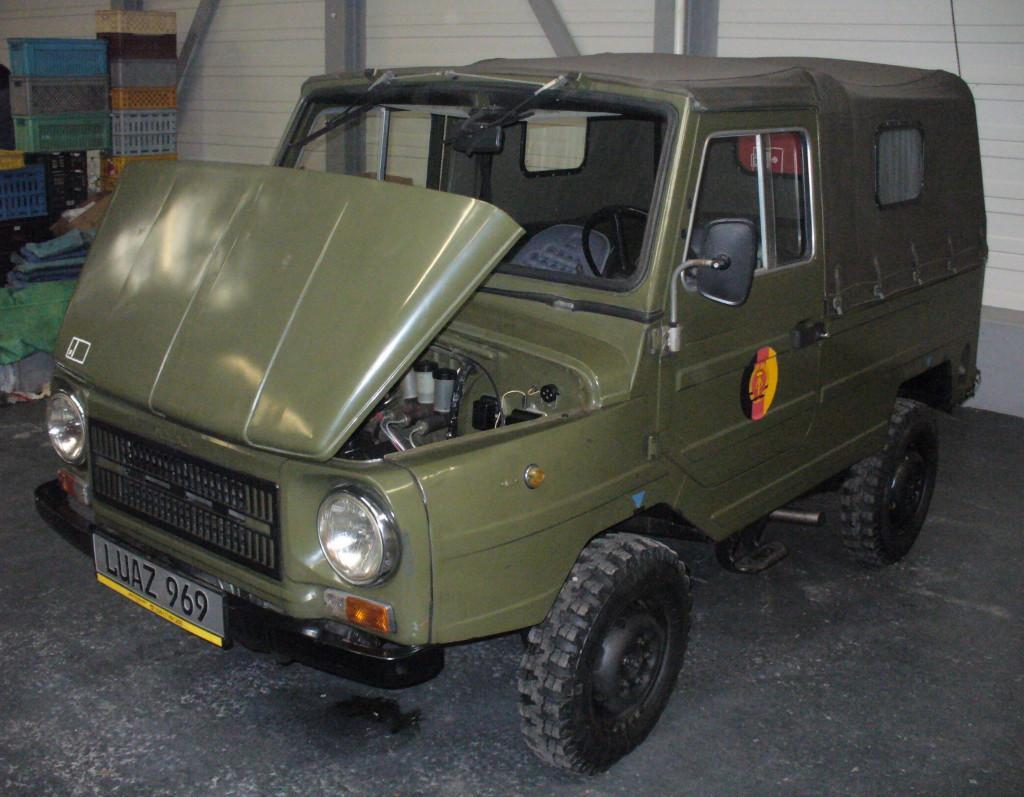 Модель получила название ЛуАЗ 969М.
