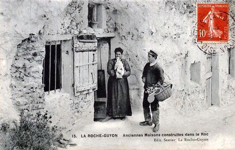 Fichier la roche guyon anciennes maisons construites dans le wiki - Photos maisons anciennes ...