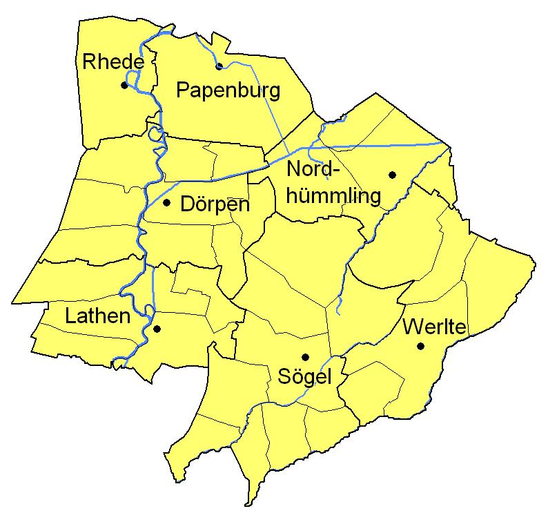 Landkreis Aschendorf-h U00fcmmling
