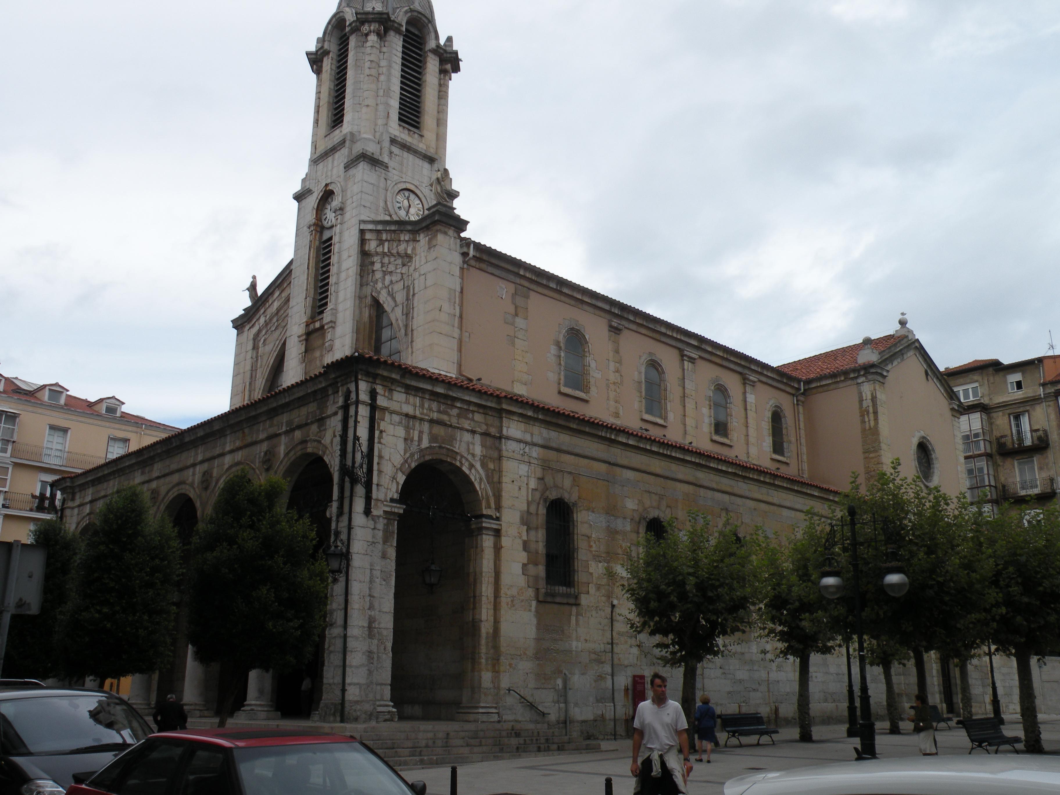 Iglesia de Santa Lucía (Santander) - Wikipedia, la enciclopedia libre